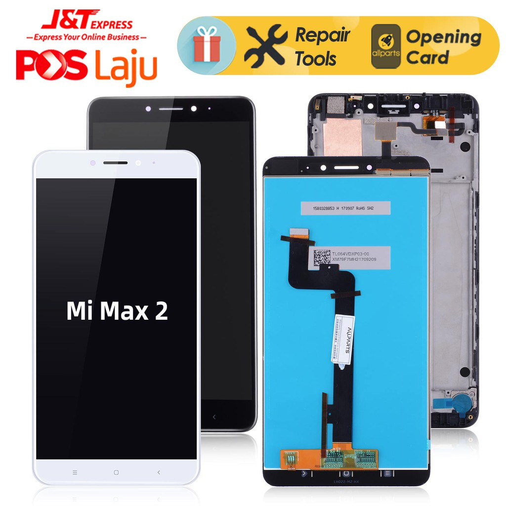 Display For XIAOMI MI MAX 2 LCD Touch Screen Max2 Mi Max 2 LCD