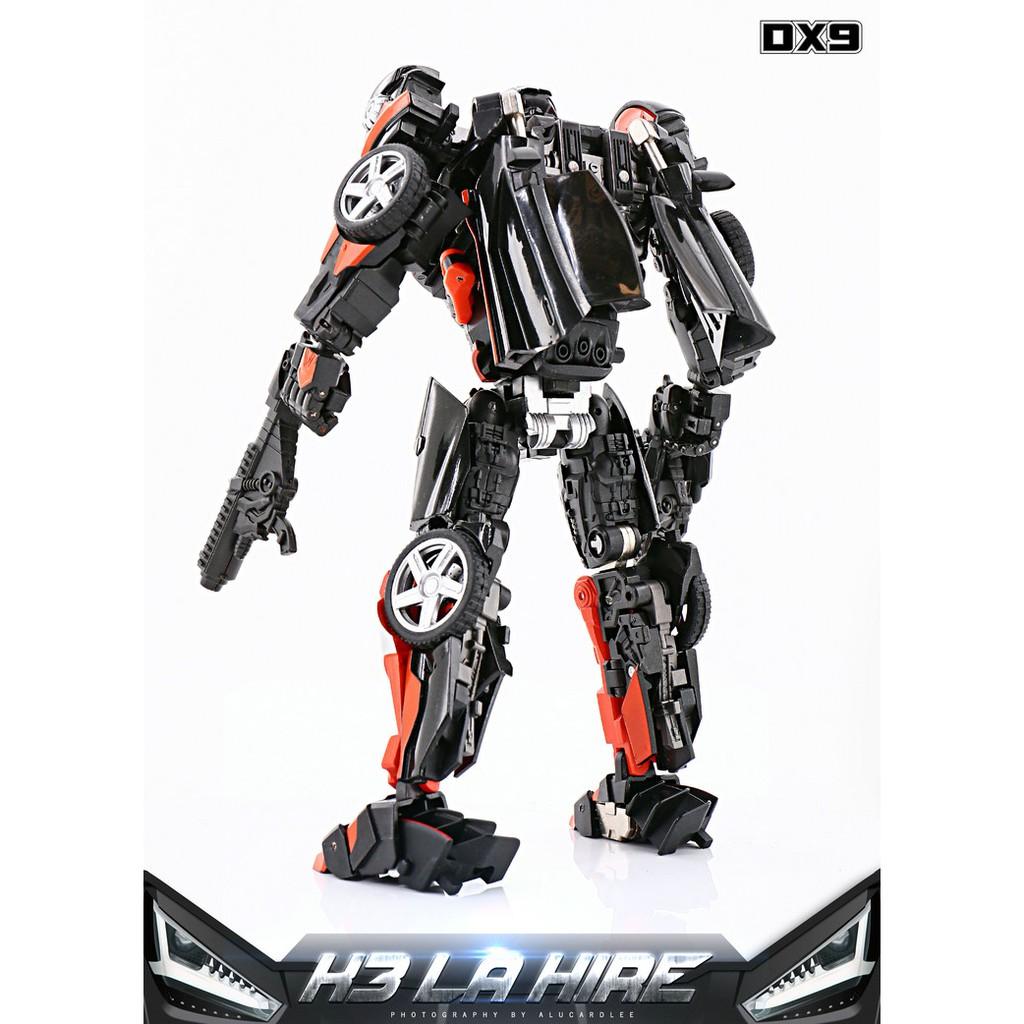 IN STOCK Transformers toy DX9 Soul Series K3 LA HIRE Hot Rod Rodimus