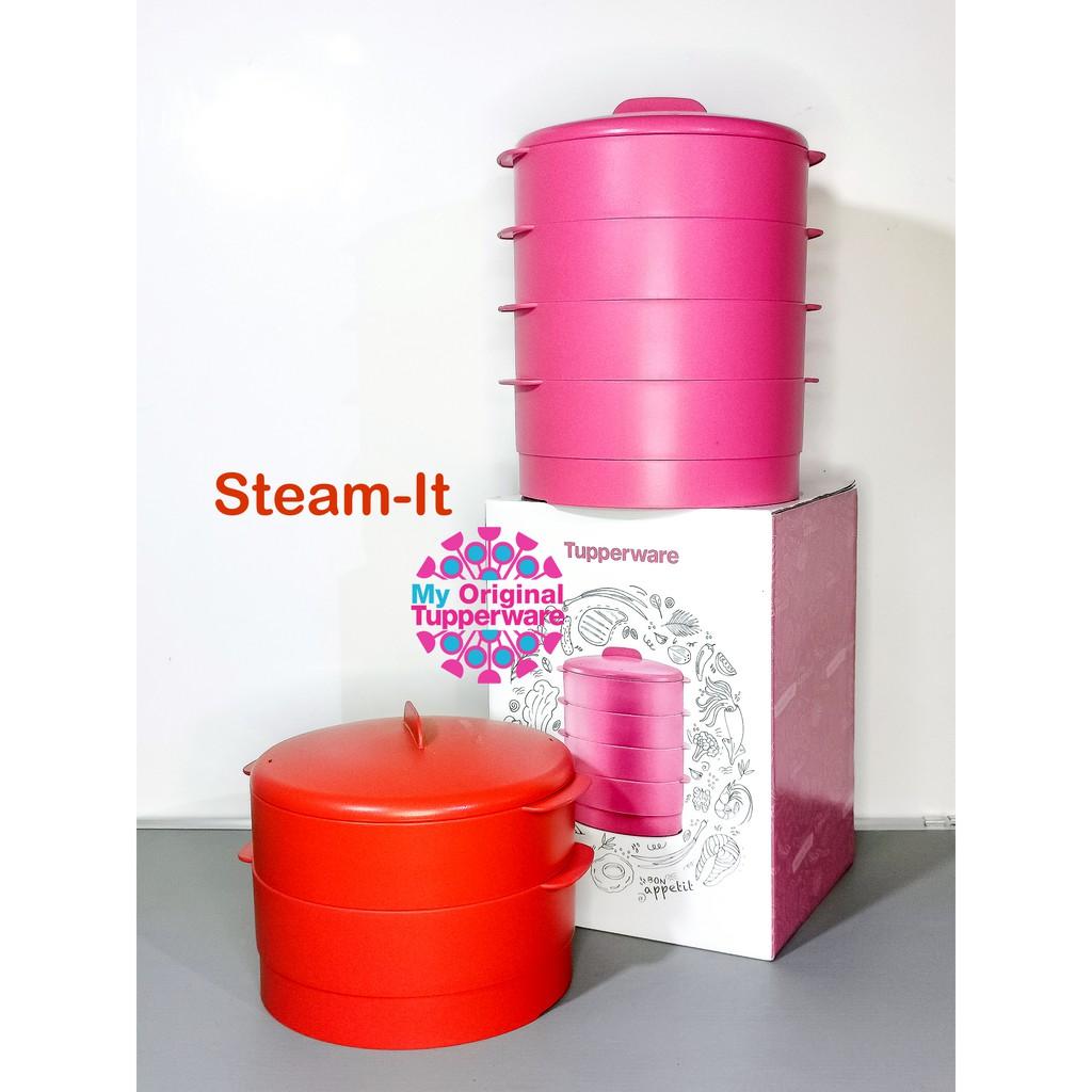 🔴READY STOCK PROMO Steam It Tupperware Smart Steamer