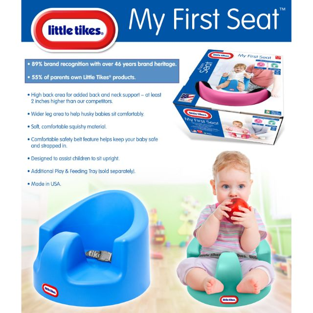 Tray ONLY For My First Seat Little Tikes My First Seat Feed N/' Play Tray