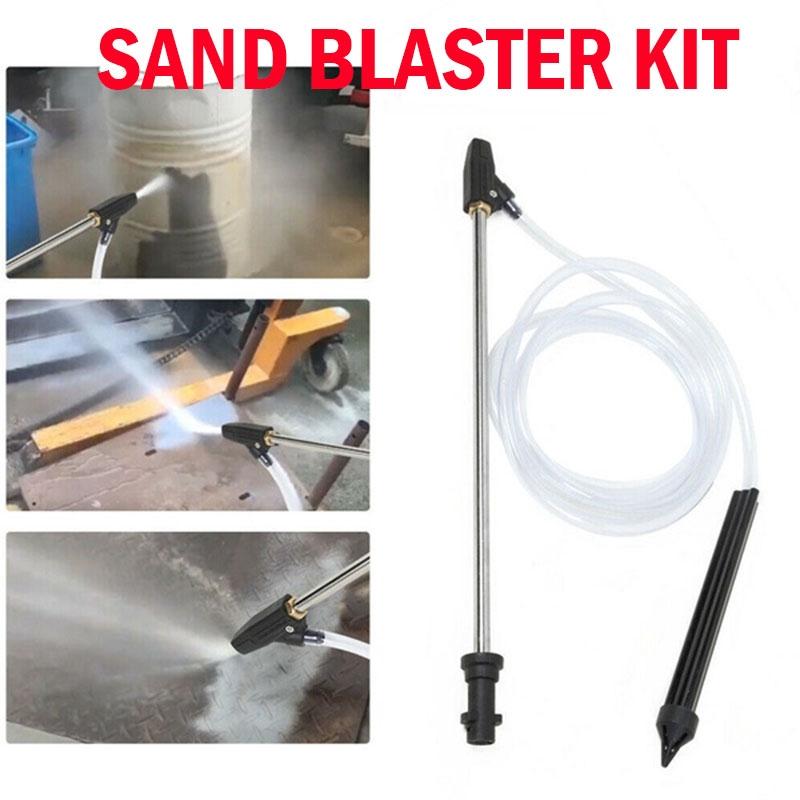 High Pressure Washer Sand Wet Blaster Sand blasting Kit For Karcher