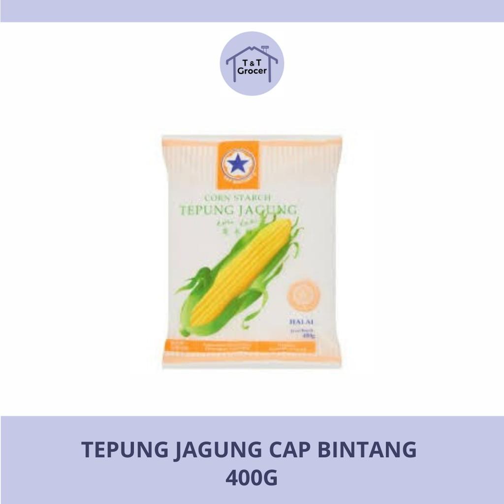 Tepung Jagung Cap Bintang (400g)