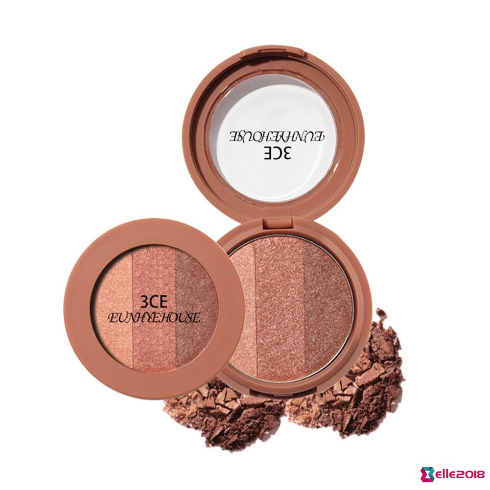 ❤Eye shadow❤ 3CE EUNHYE HOUSE 3 Colors Eye Shadow Makeup Shimmer Matte Palette Makeup Set
