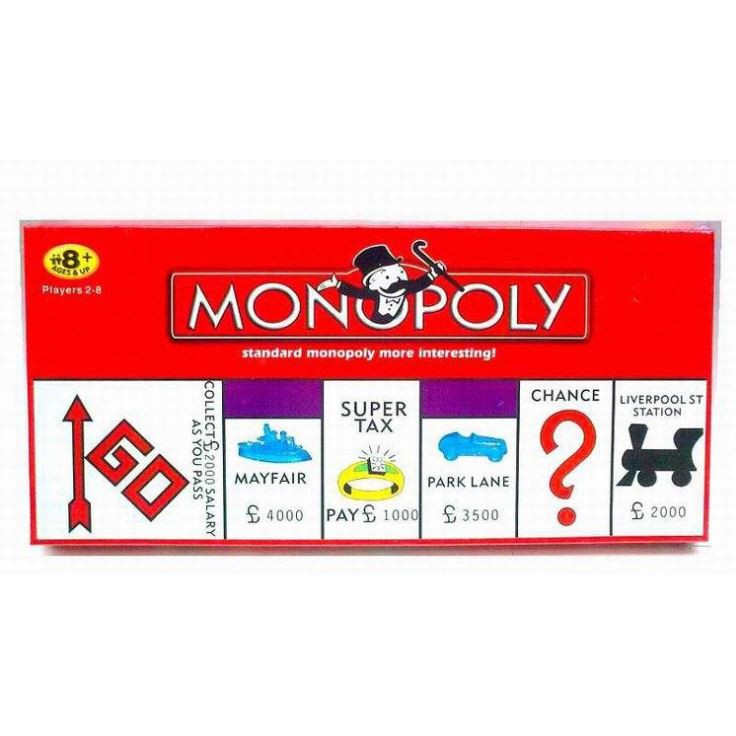 💲MONOPOLY💲BOARD GAME CLASSICAL