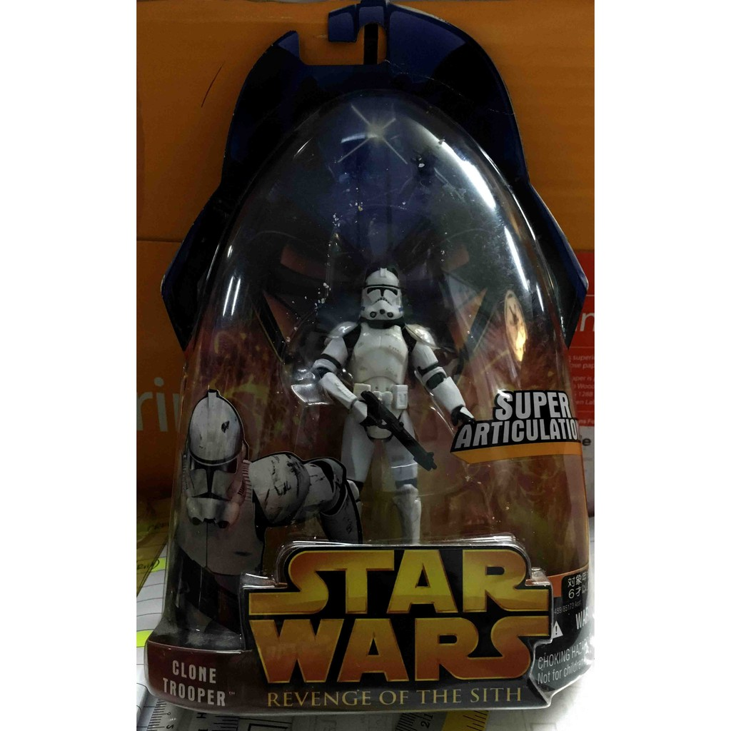 Clone Trooper Star Wars Revenge Of The Sith Zk081 Action Figures Shopee Malaysia