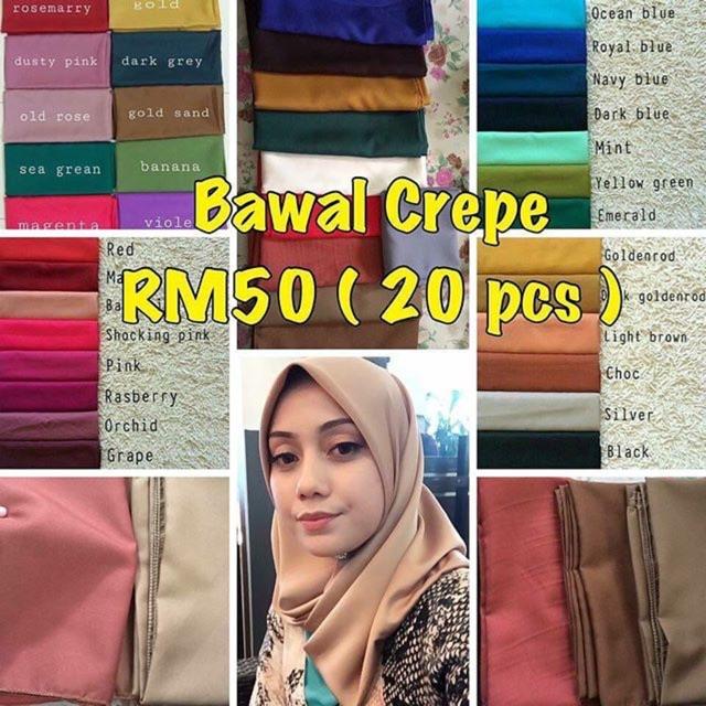 Pemborong Tudung Termurah Shopee Malaysia