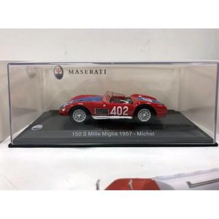 1:43 leo models Maserati 150 s #402 Mille Miglia michel 1957