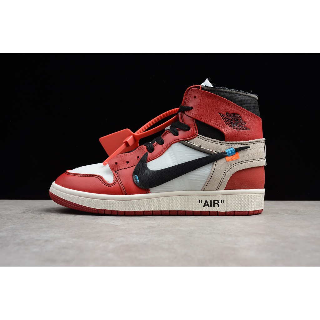 the best attitude da170 45dc1 ProductImage. ProductImage. Nike Off-White X Air Jordan1 Men S Sports Lie  Fallow Basketball Shoes