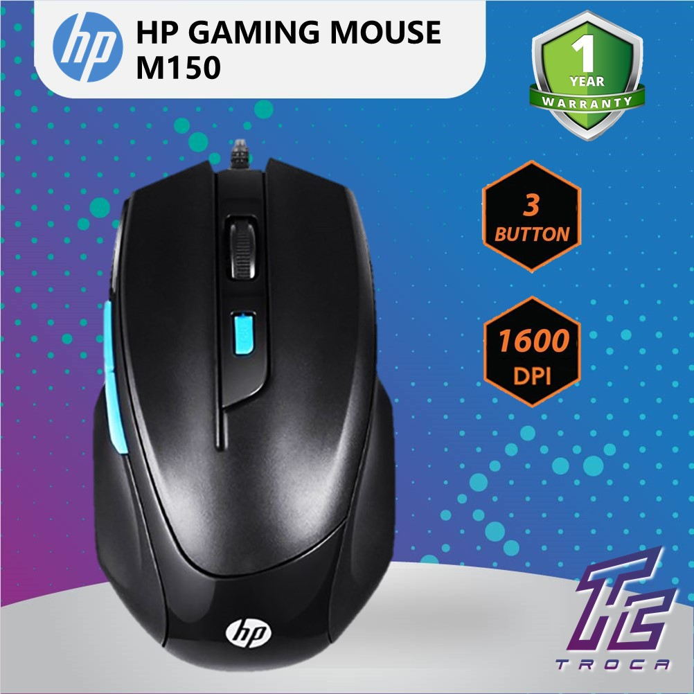 27f37952701 HP M150 High Performance Gaming Mouse | Shopee Malaysia
