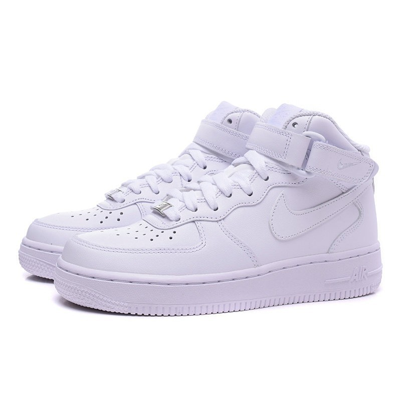new product 19377 9de50 NIKE AIR FORCE 1 NK AF1 HIGH WOALL WHITE