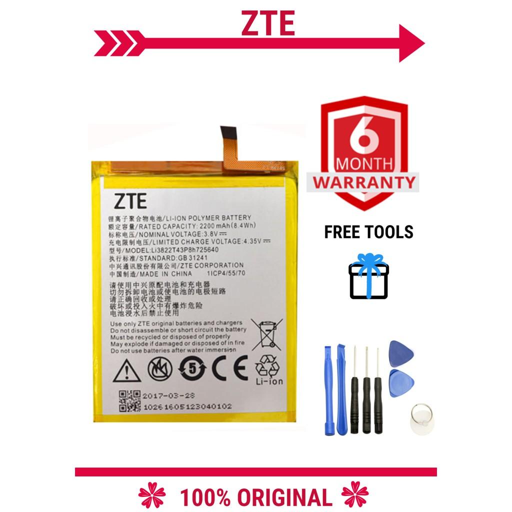 100% ORIGNAL ZTE Blade A510/A610 Battery 2200 mAh