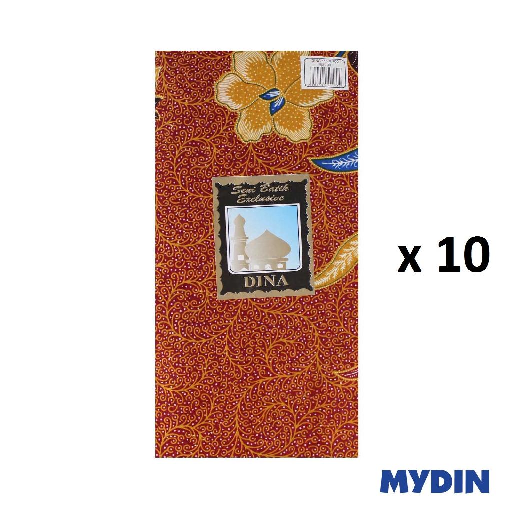 Assorted Dina Batik Sarung BJ790 (118cm x 200cm x 10pcs)