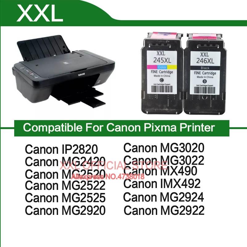 Canon Mx490 Mx492 Ink Cartridge For Canon Pixma Mx490 Mx492 Mx 490 492 Printer Cartridge Ink Pg245 Shopee Malaysia