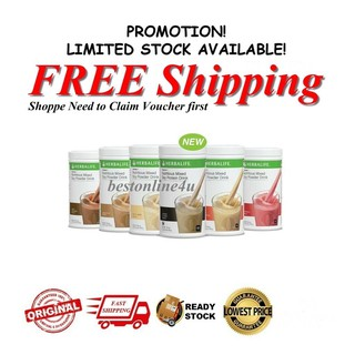 Ready Stock Herbalife Formula 1 F1 Nutrition And Formula 3 F3 Protein Move Qr Code Bar Code Shopee Malaysia