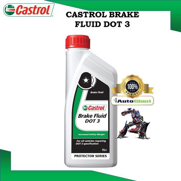 CASTROL BRAKE FLUID DOT 3, 1L (100% ORIGINAL)