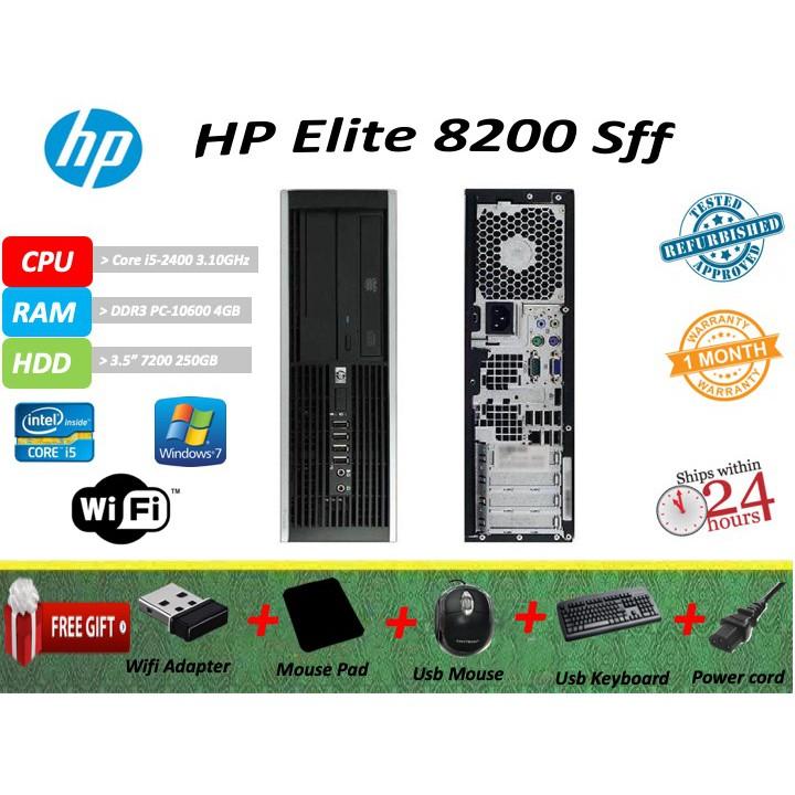 Hp 8200 Core I5-2400 Desktop PC