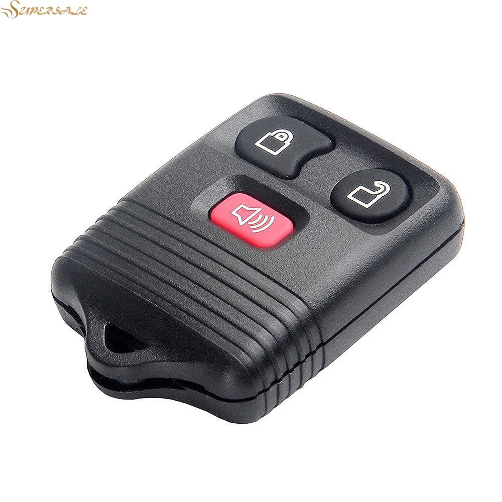 HOT 2Pcs Brand New Replacement Car Auto Keyless Entry Remote Control Key Fob