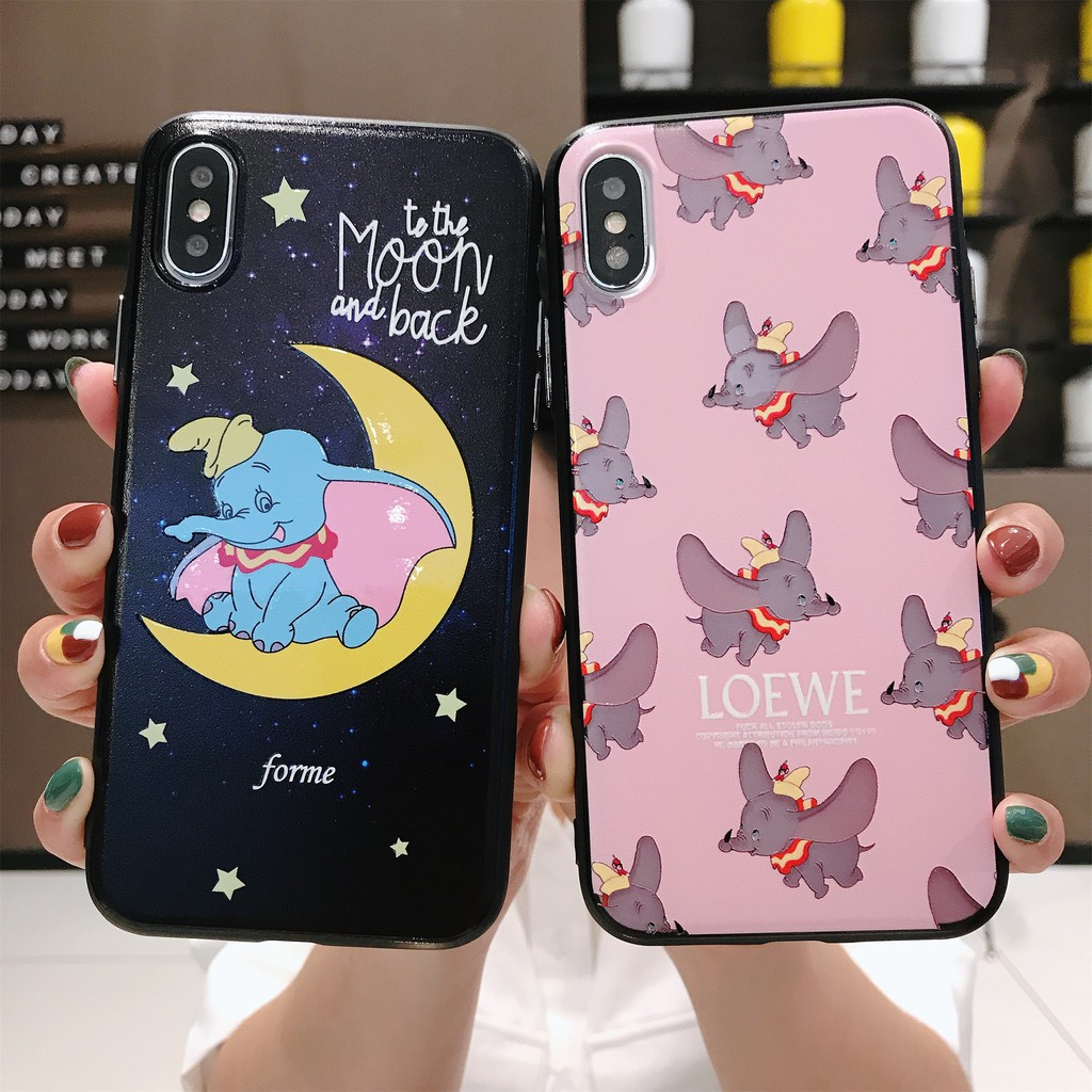 timeless design cce6a 9694e black pink dumbo IPhone 6/6S Case 7/8 Plus X/XS XR XSMax Case Phone Case