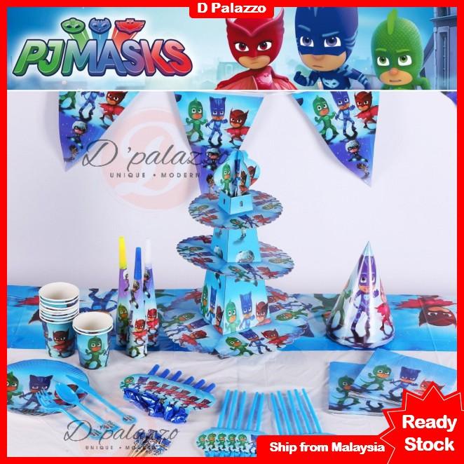 PJ Kid MASKS Party favor decoration Cartoon themes//Fast shipping