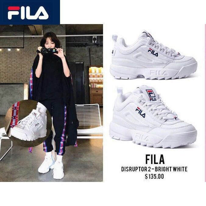 ready Fila Disruptor 2 men women increased sports running casual Couples shoes | Shopee Malaysia