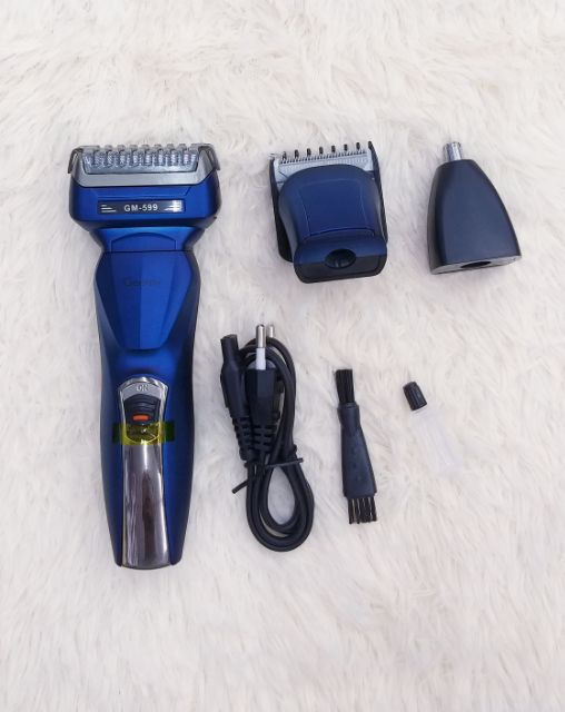 Gemei/Geemy GM-599 and RECHARGEABLE Professional Hair Clipper | Shopee Malaysia