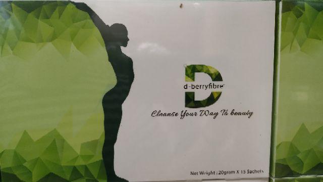D Berry Fiber Detox diet Collagen