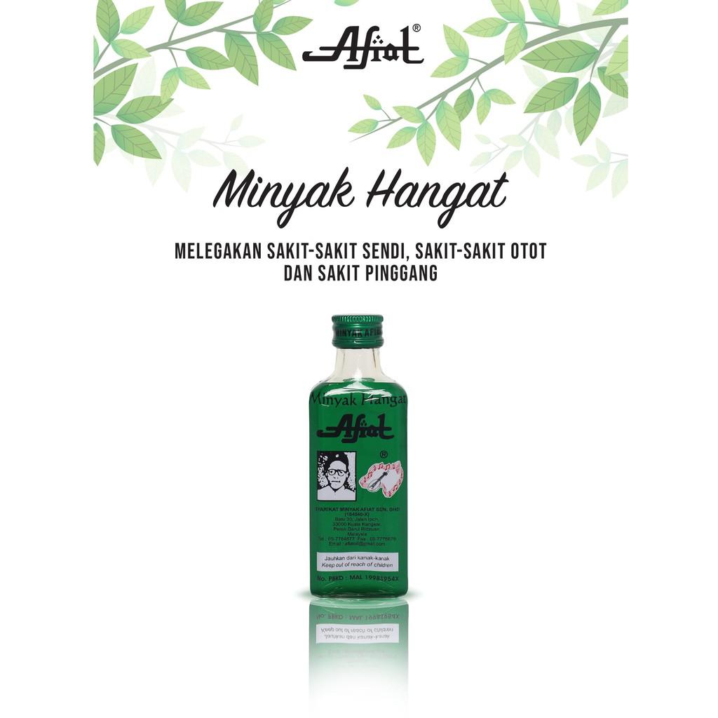 AFIAT MINYAK HANGAT 55ML 100% ORIGINAL HQ+FREEGIFT
