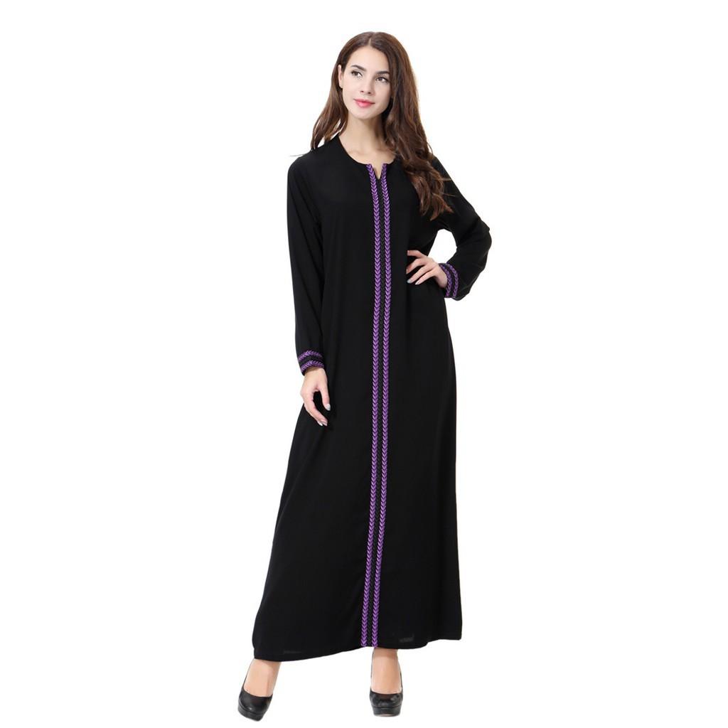 92c69f64e9510 Fashion Abaya dubai muslim dress women islamic clothing caftan abayas for  women