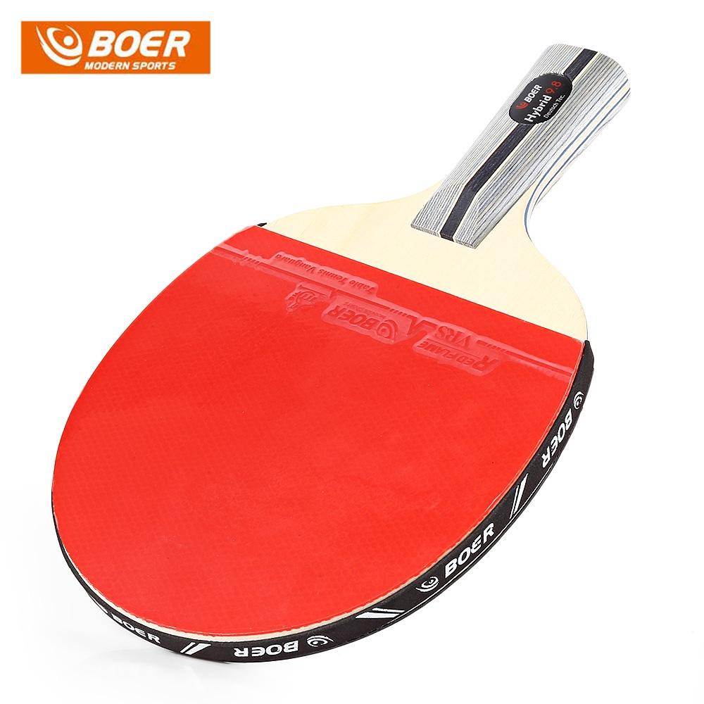 BOER Ping Pong High Elasticity Sponge Rubber for Table