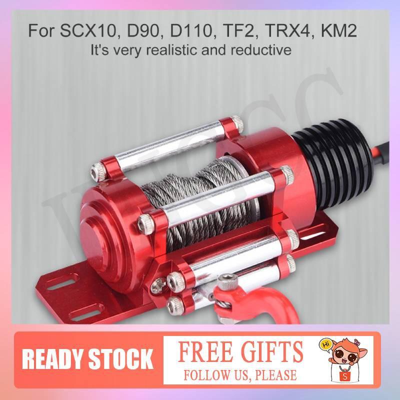 1//10 RC Crawler Metal Winch RC Accessories for SCX10 D90 D110 Car Parts