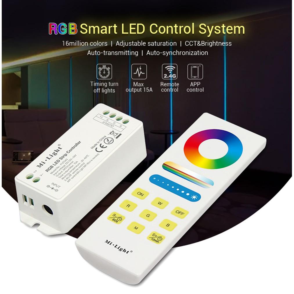 Milight FUT043A RGB Smart LED Control System 15A 2 4G Wireless LED  Controller