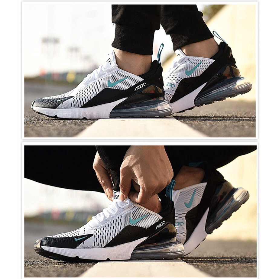 Available Nike AIR MAX 270 2 Colors Men and Women Cushion Running Sport ShoesNew