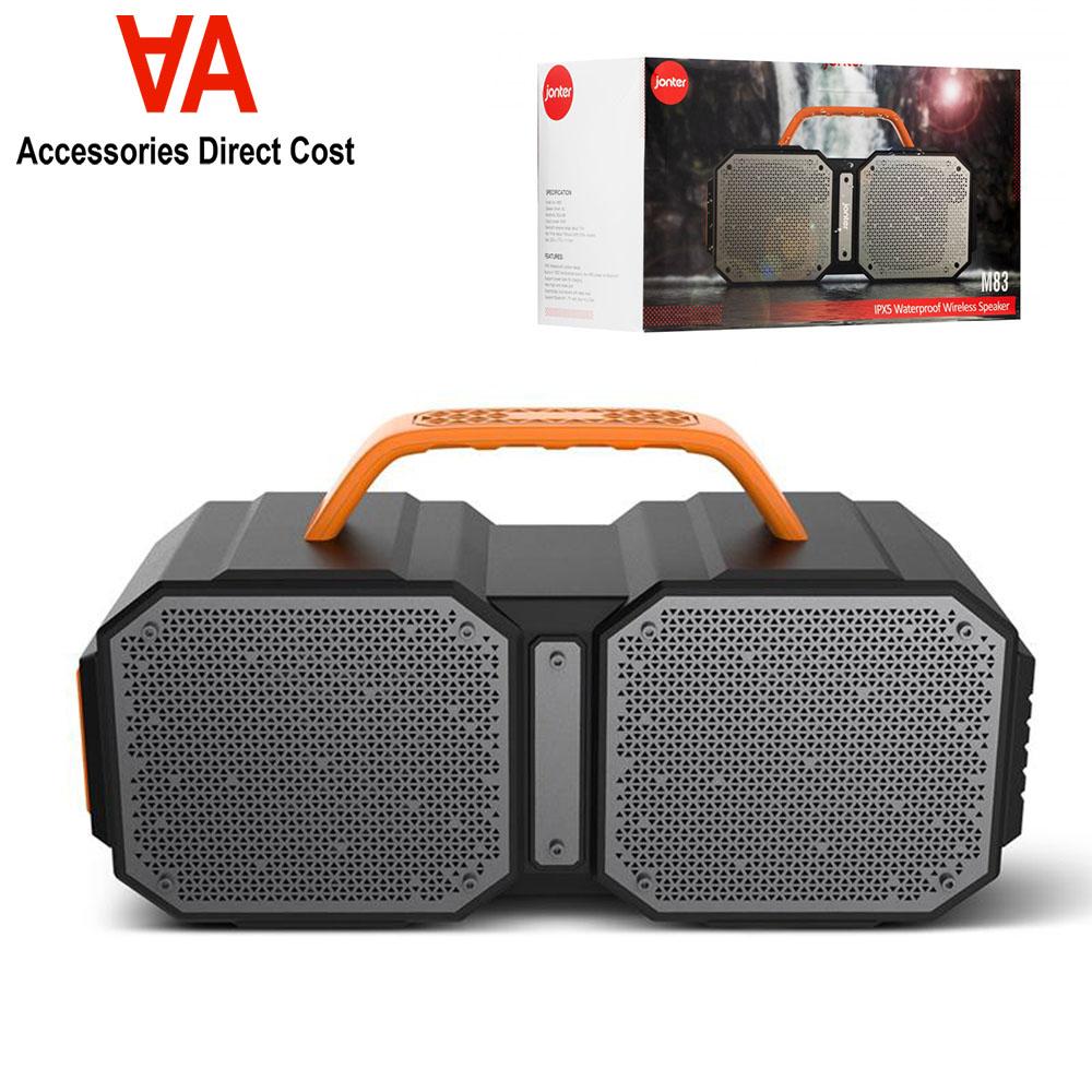 Jonter M83 IPX5 Waterproof Wireless Bluetooth Portable Speaker TWS