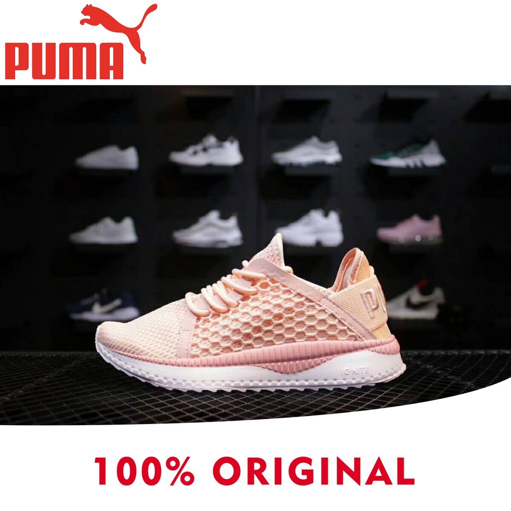 Original Puma shoes Outdoor sneakers Breathable running shoes women pink  sports  d62f775a27