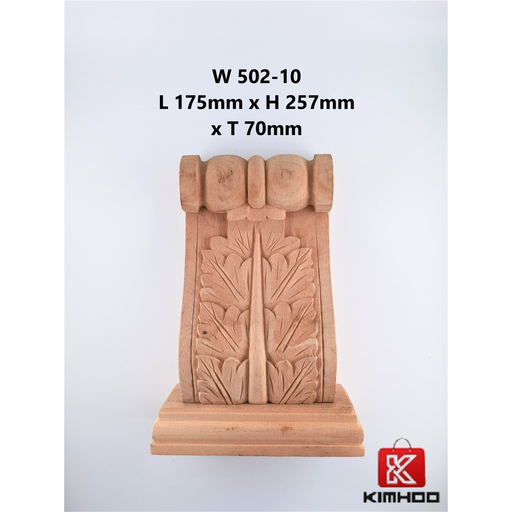 Wood Carving Corbel Decal W502-10