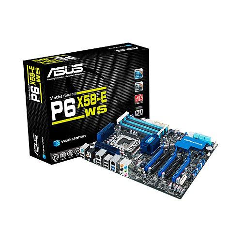 ASUS P6X58-E WS LGA1366 SOCKET INTEL X58 MOTHERBOARD