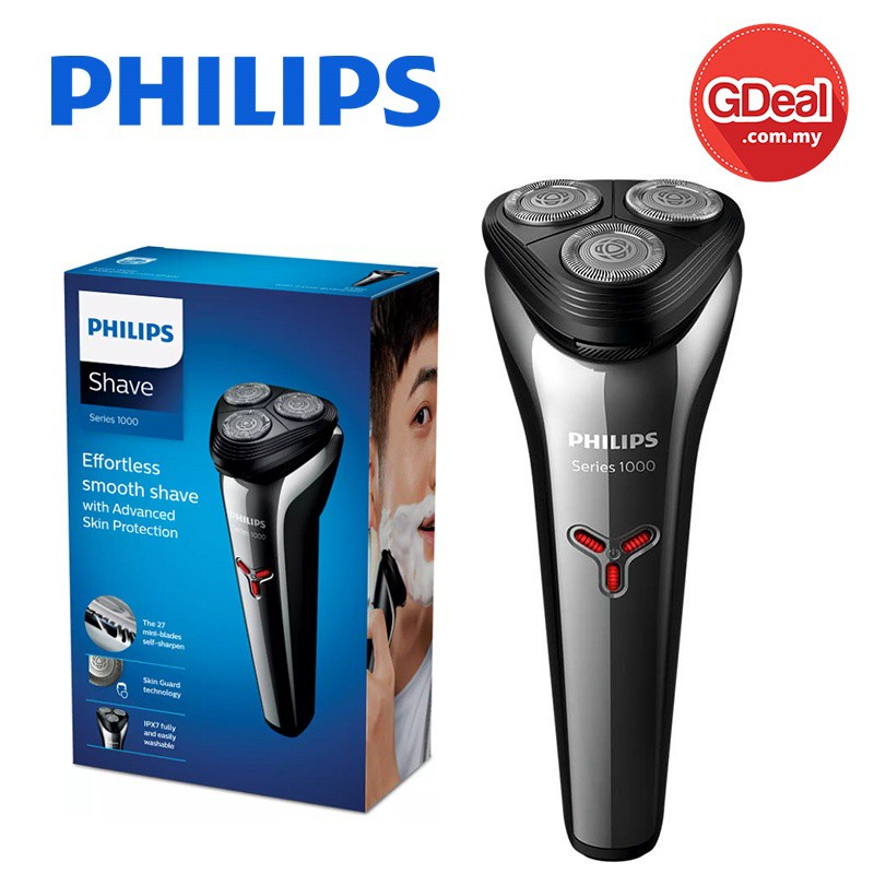 GDeal Philips Effortless Smooth Electric Shaver (S1103/02)