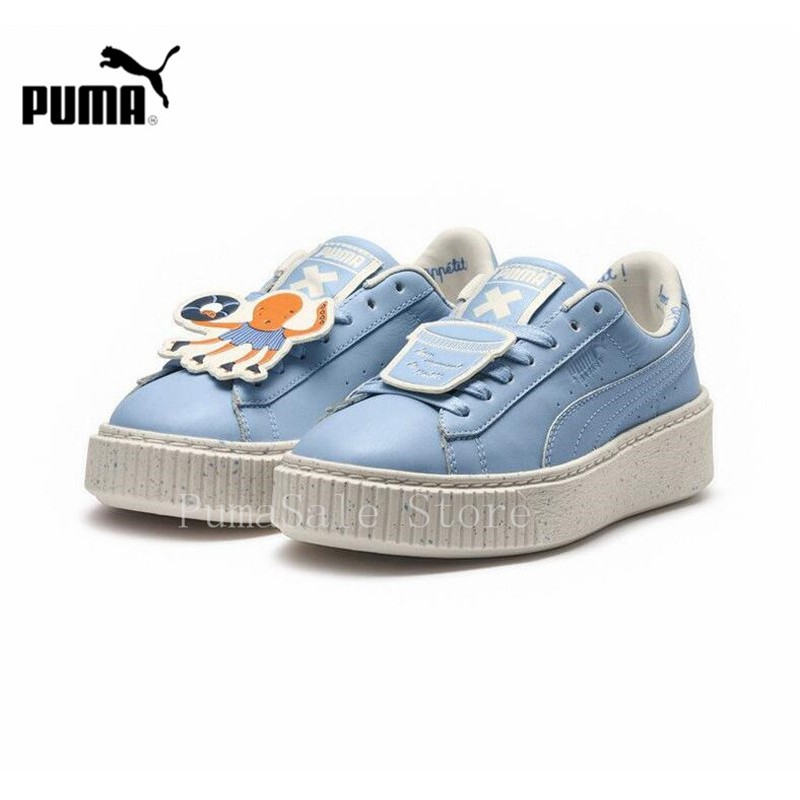 0f6c9c7bef tixs Original PUMA CLYDE X UNDFTD TC Women Badminton Shoes Platfo