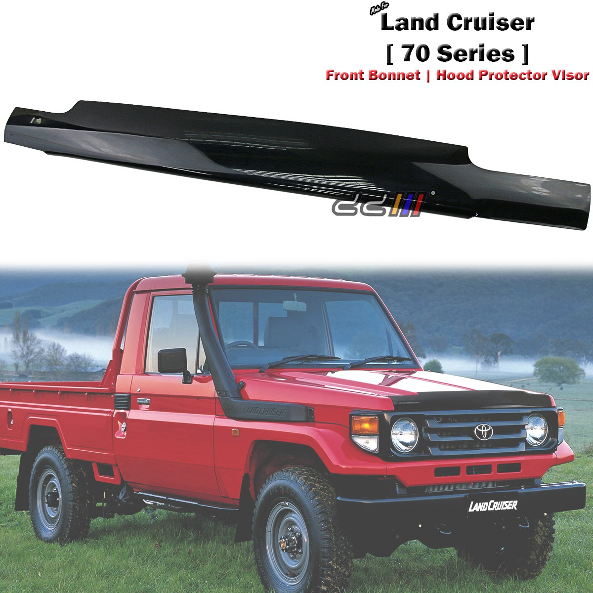 Front Engine Mount For Toyota Land Cruiser 70 Hj75 1984-1990