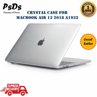 finest selection 7bcfe 84972 Crystal Clear Hard Protective Case Cover New Macbook Air 13 Retina ...