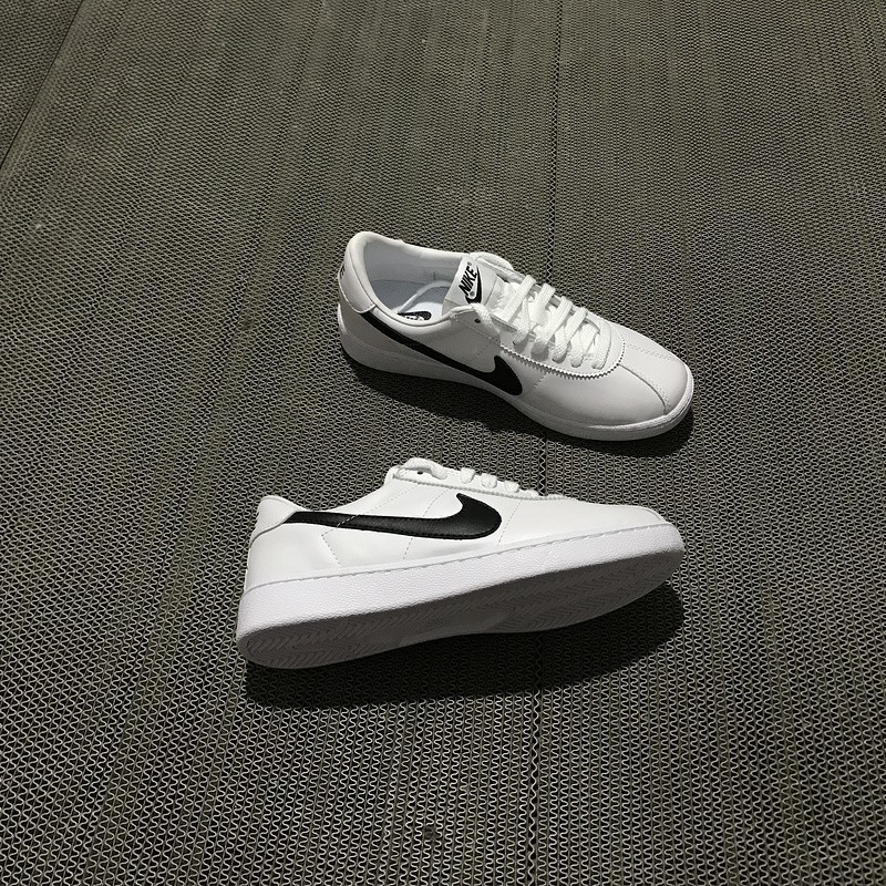 abogado Patológico contraste  Super Heart* NIKE BRUIN LEATHER Back to the Future White/Black Shoes |  Shopee Malaysia