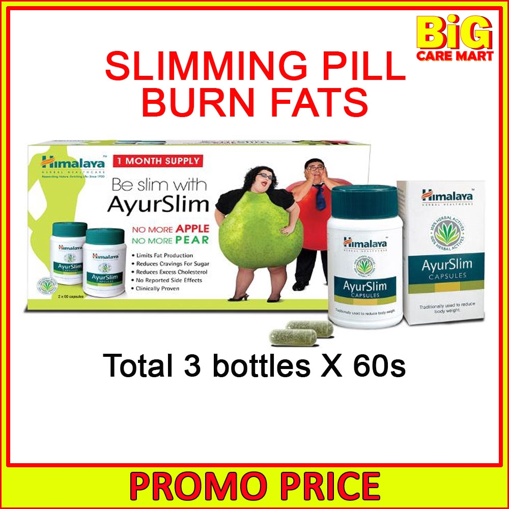 Himalaya AyurSlim Garcinia Slimming Pills 60s X 3 bottles
