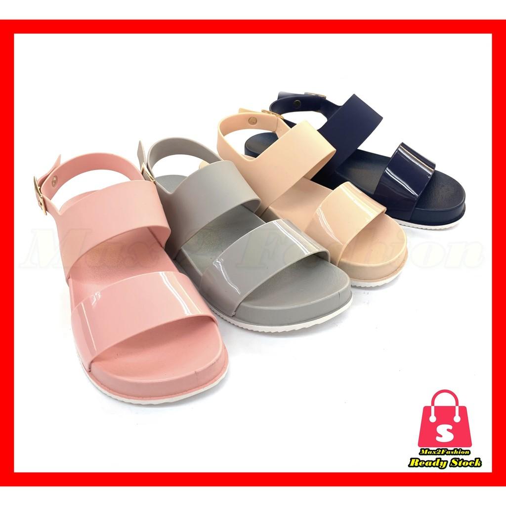 *C&T* {Clearance Stock}Ladies Slipper Fashion Non-slip Comfort Rubber Sandal