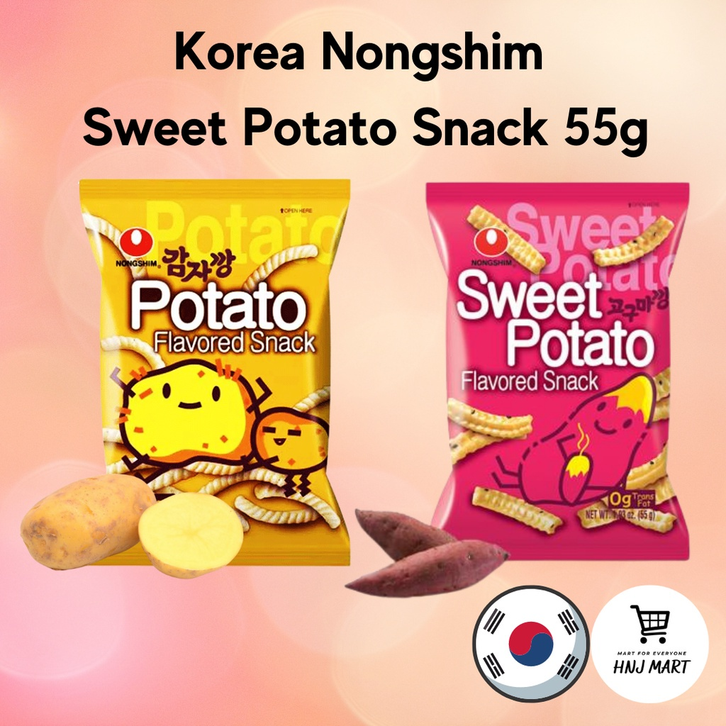 Korea Nongshim Sweet Potato Snack 55g