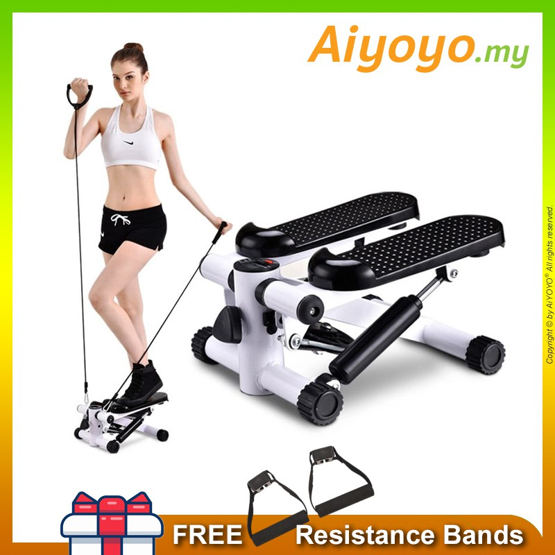 Stepper Resistance Bands Gym Fitness Exercise Twist Step