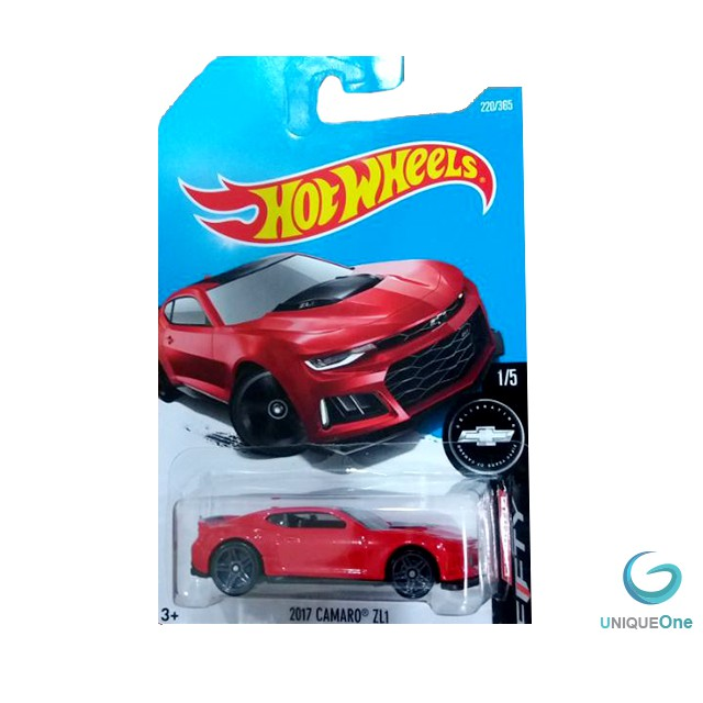 Hot wheels 2017 Camaro ZL1 model Edition limited Red 220/365 diecast 1/5 Camaro Fifty Series