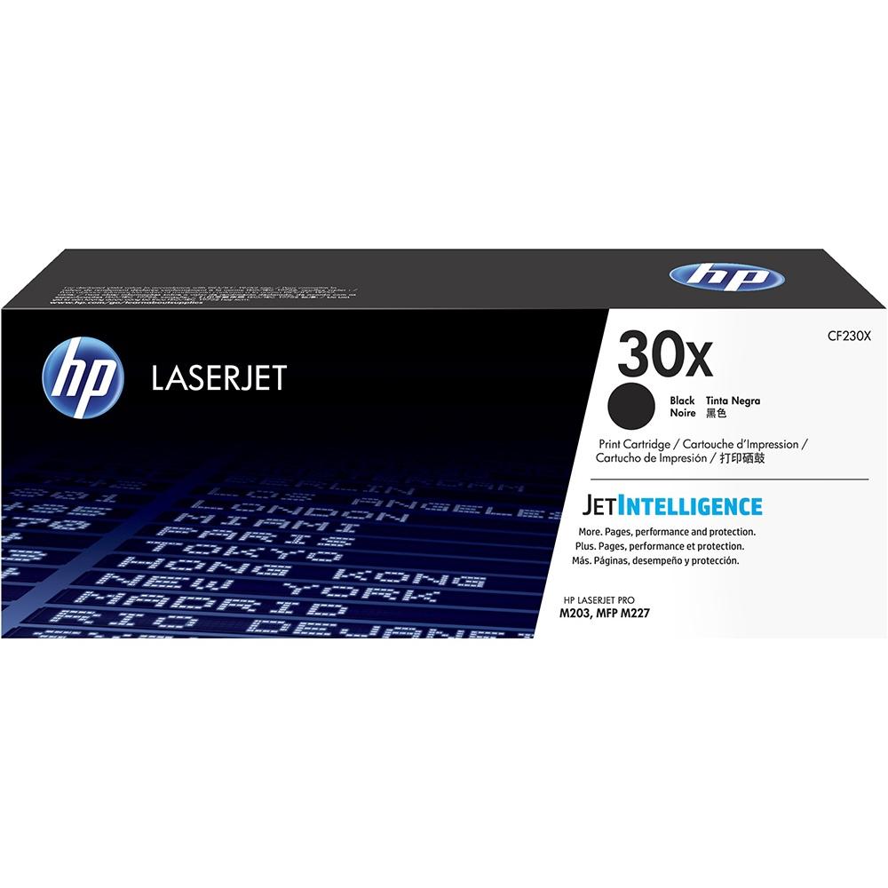 HP 30X High Yield Black Original LaserJet Toner Cartridge CF230X