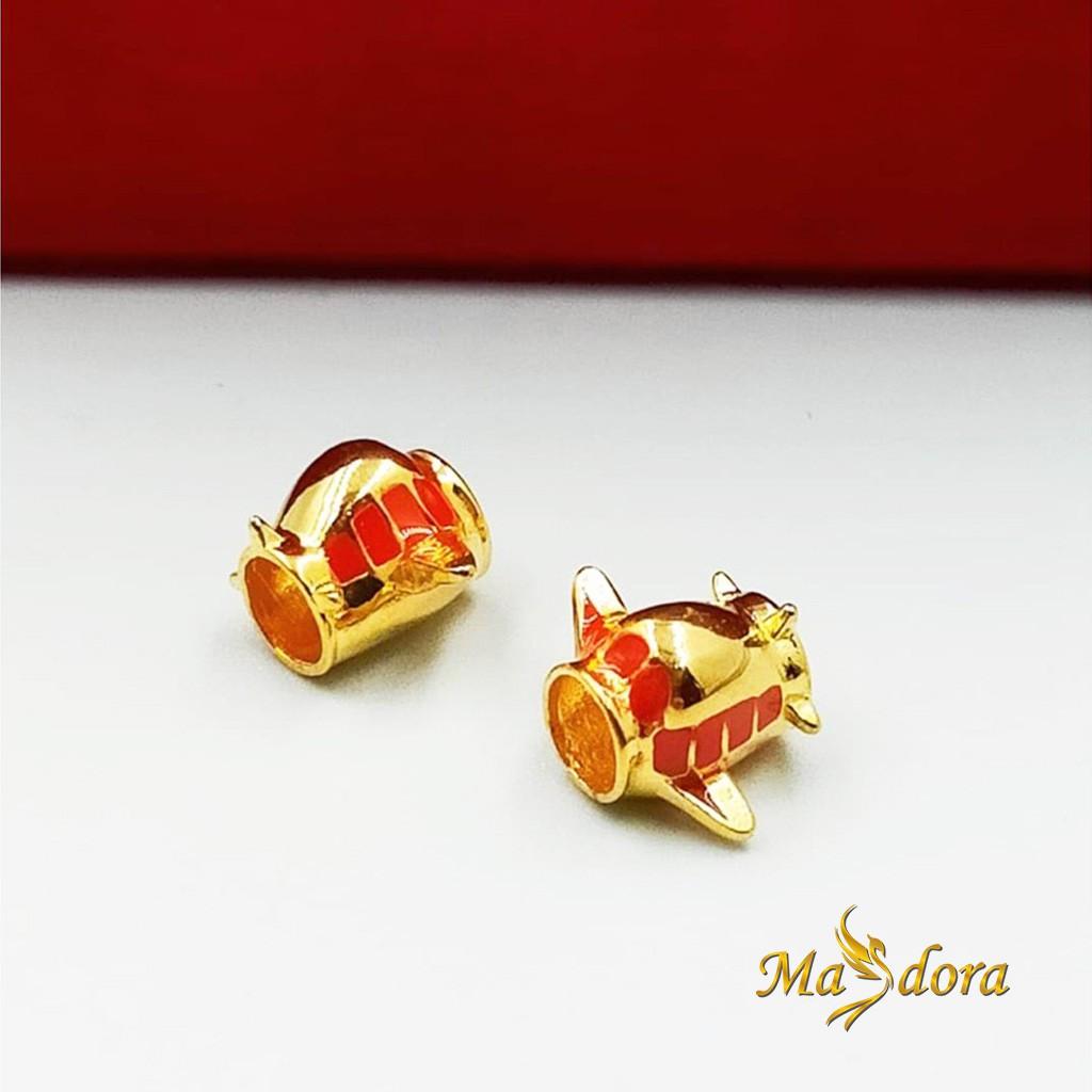 Masdora Beads and Charms ~ Transports Series (Emas 916)