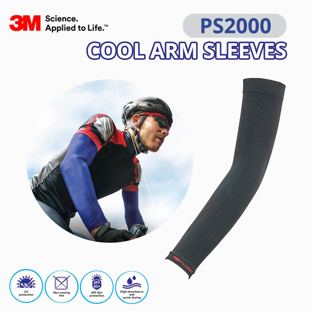 3M PS2000 Cool Arm Sleeves Sarung Lengan (For Outdoor Activities)