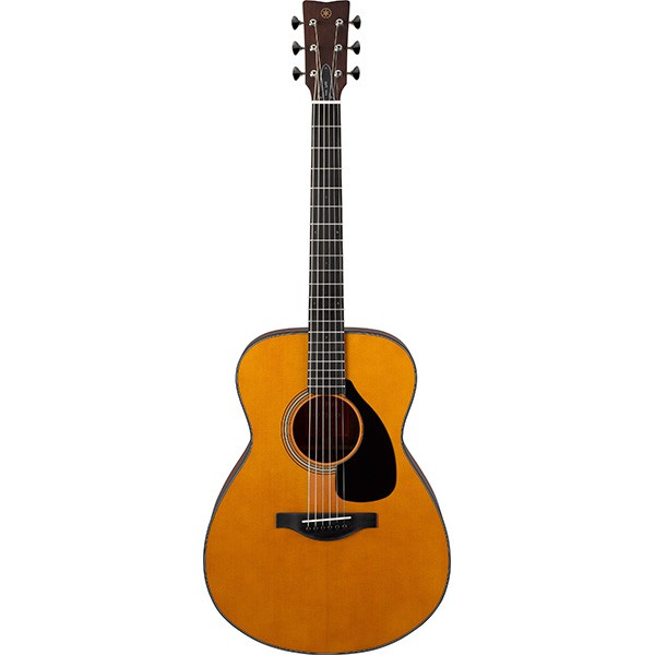 Yamaha FS3 40 Concert Solid Sitka Spruce Top Acoustic Guitar with Hard Case (FS 3)